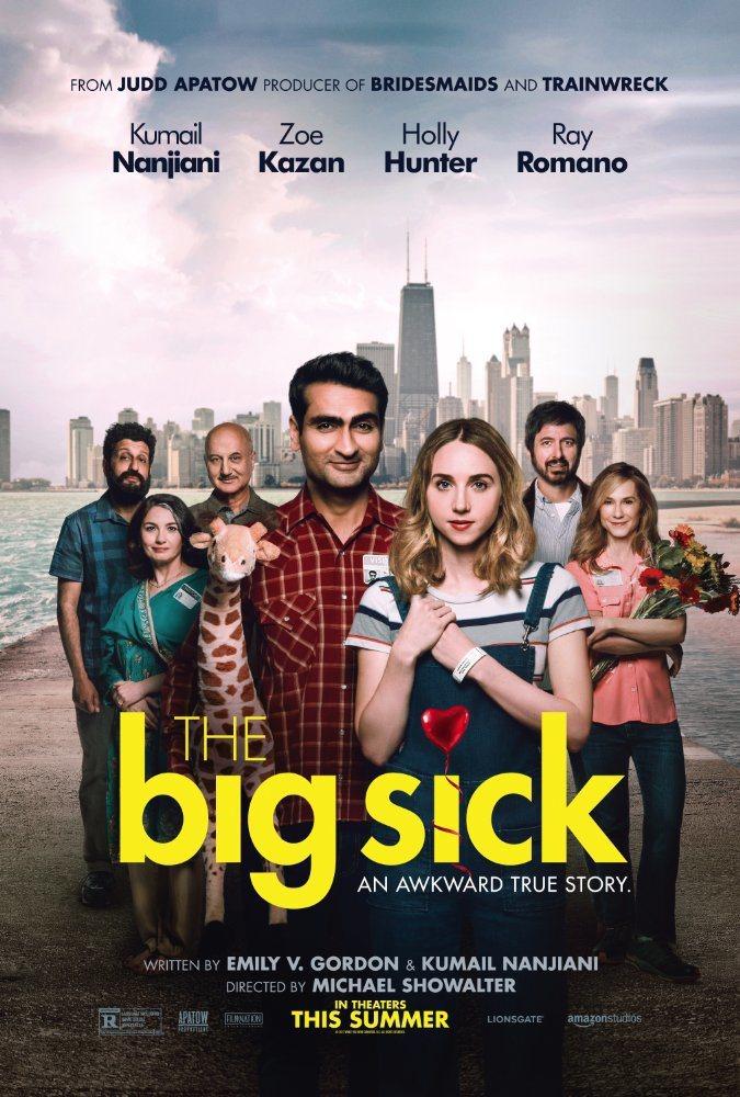 「愛情昏迷中」(The Big Sick)沒入金球獎任何獎項。 圖/擷自IMDB