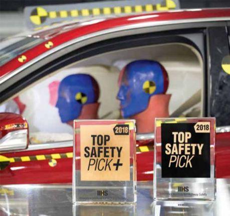 IIHS公布最佳安全首選車款 日韓大軍傲視群雄