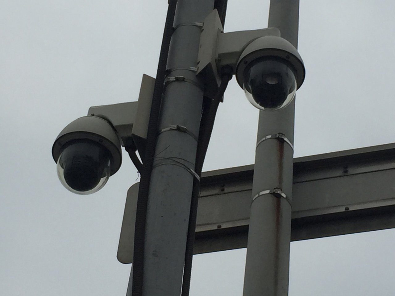 這疑似監視器被傳得無所不罰,造成人心惶惶。記者吳政修/攝影