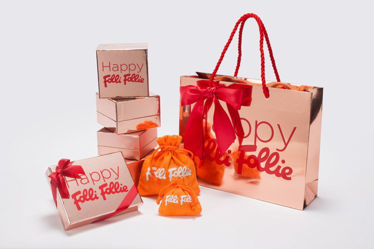 Folli Follie節慶包裝。圖/Folli Follie提供