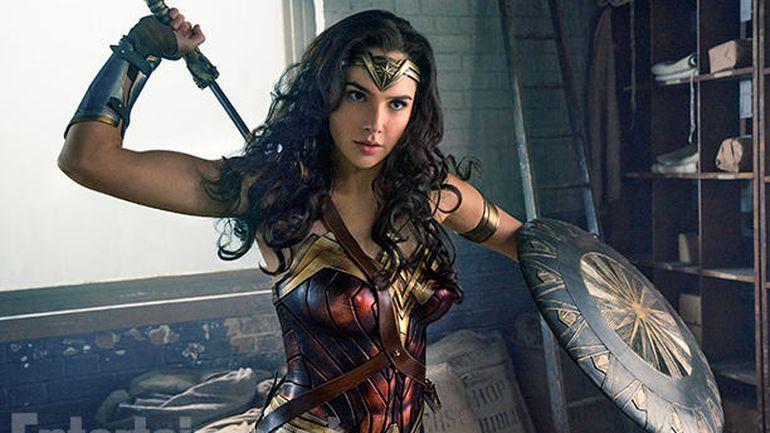 「神力女超人」票房亮麗,評價又好,卻無緣獲得金球獎肯定。圖/華納兄弟提供