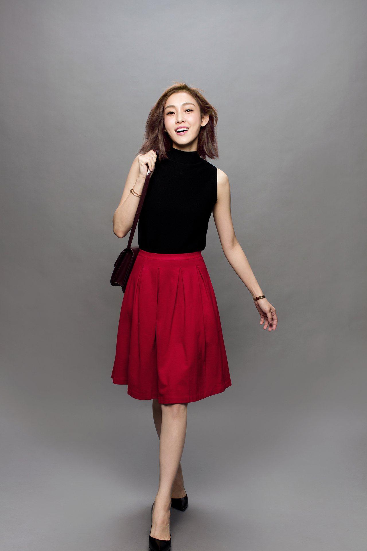 范瑋琪自創服飾品牌GENQUO進駐momo購物網,開設首家品牌旗艦館。圖/mom...