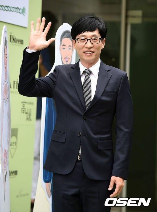 劉在錫蟬聯6年南韓「最搞笑藝人」。圖/摘自OSEN