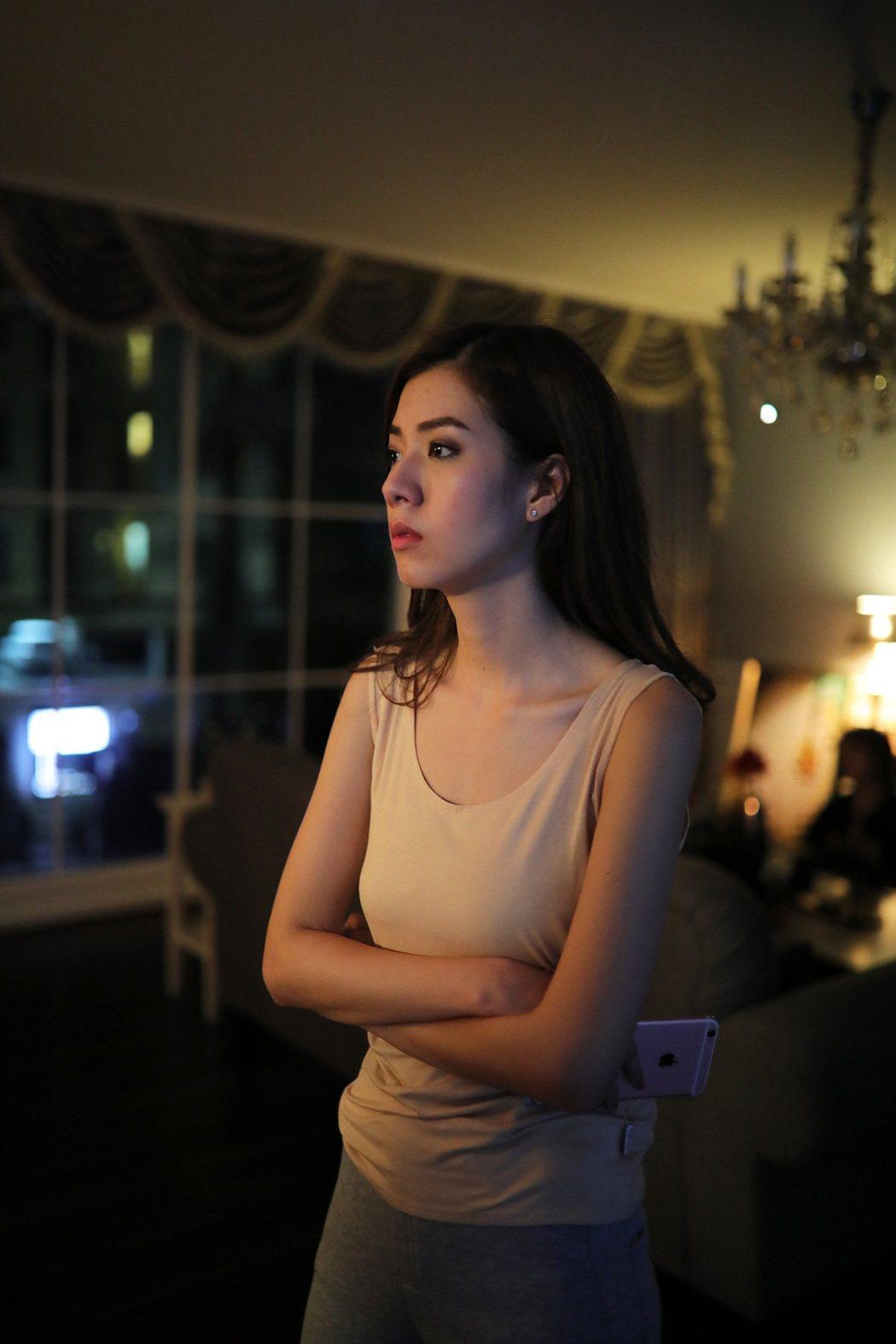 「魍美」女主角之一,曾演出「609猛鬼旅社」琪洽.安瑪達雅。圖/華映提供