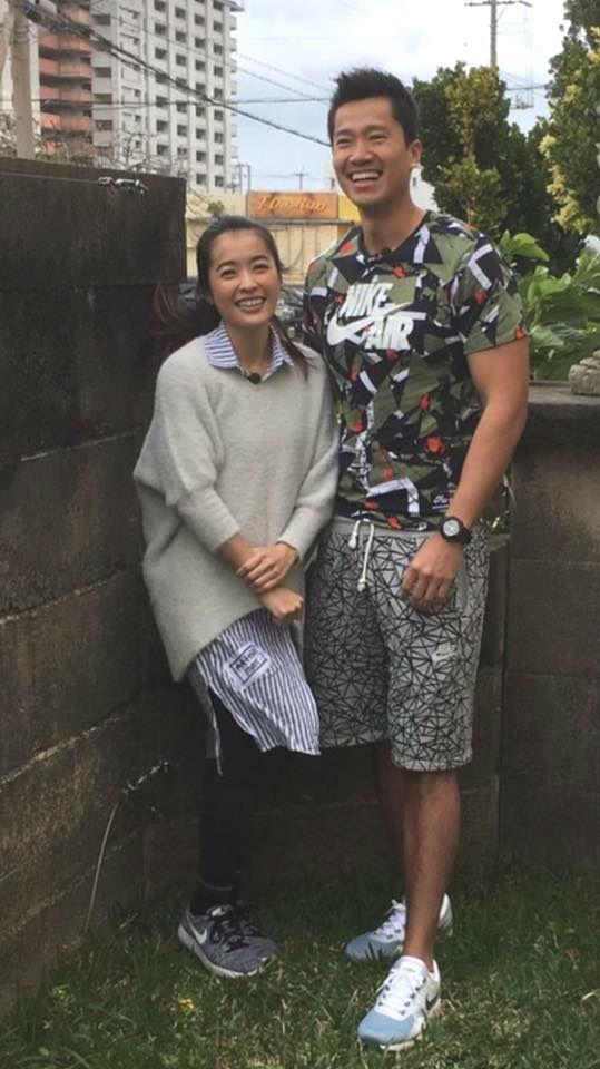 何守正(右)與小嫻(左)鬧婚變。 圖/擷自何守正臉書