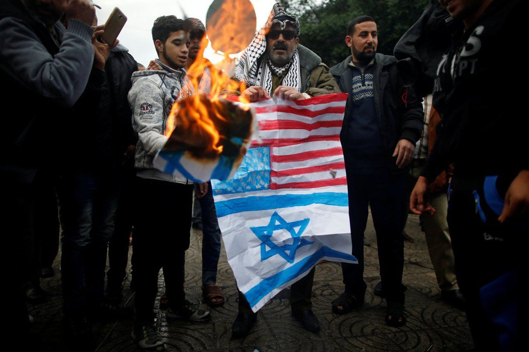 不管是對以色列還是阿拉伯諸國,影響土耳其平衡政策最大的因素,都是美國。 圖/...