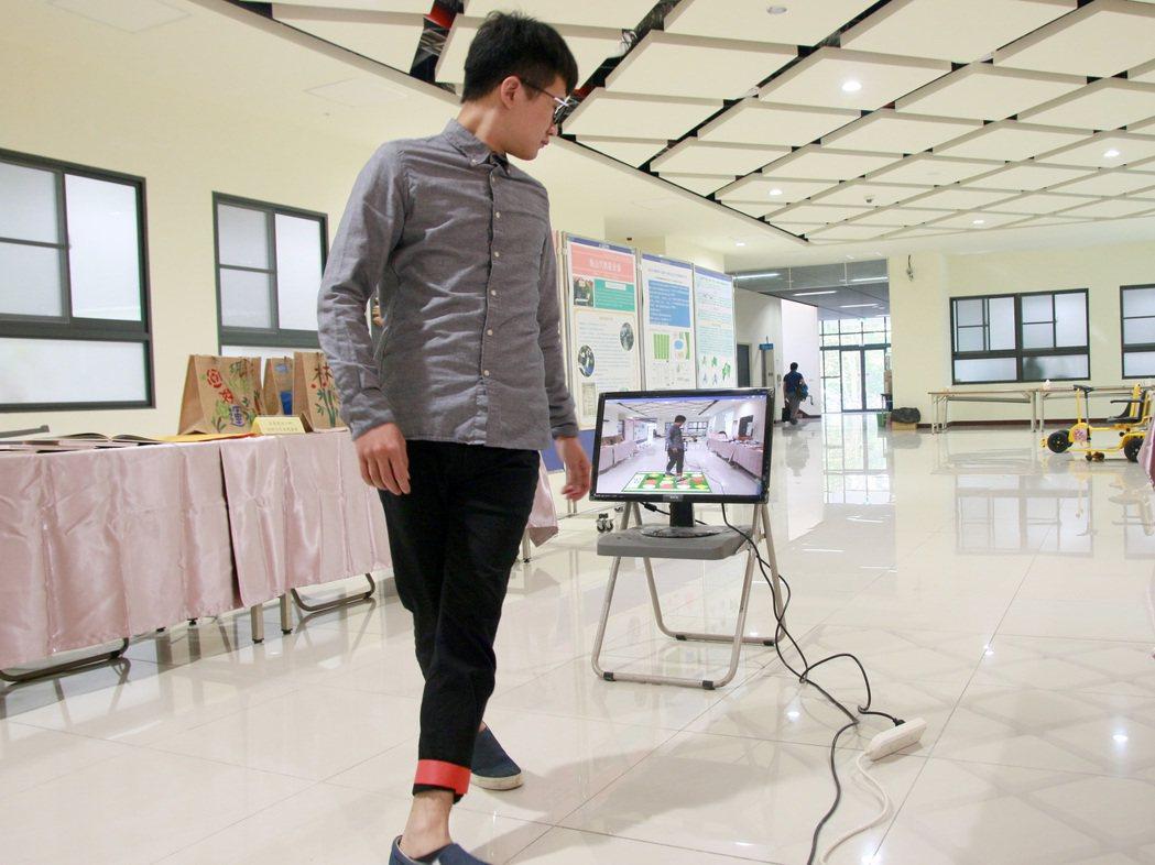 中正大學結合擴增實境(AR)技術,開發一套高齡者體智能運動指導及評估系統,讓阿公...