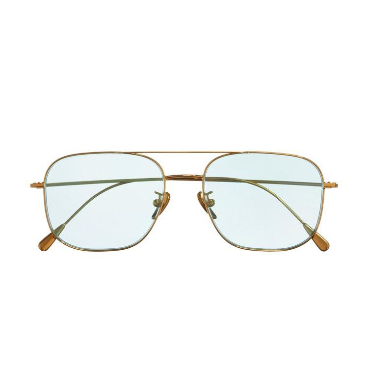 Cutler &Gross 1267系列金屬細框墨鏡,約19,800元。圖/四季...