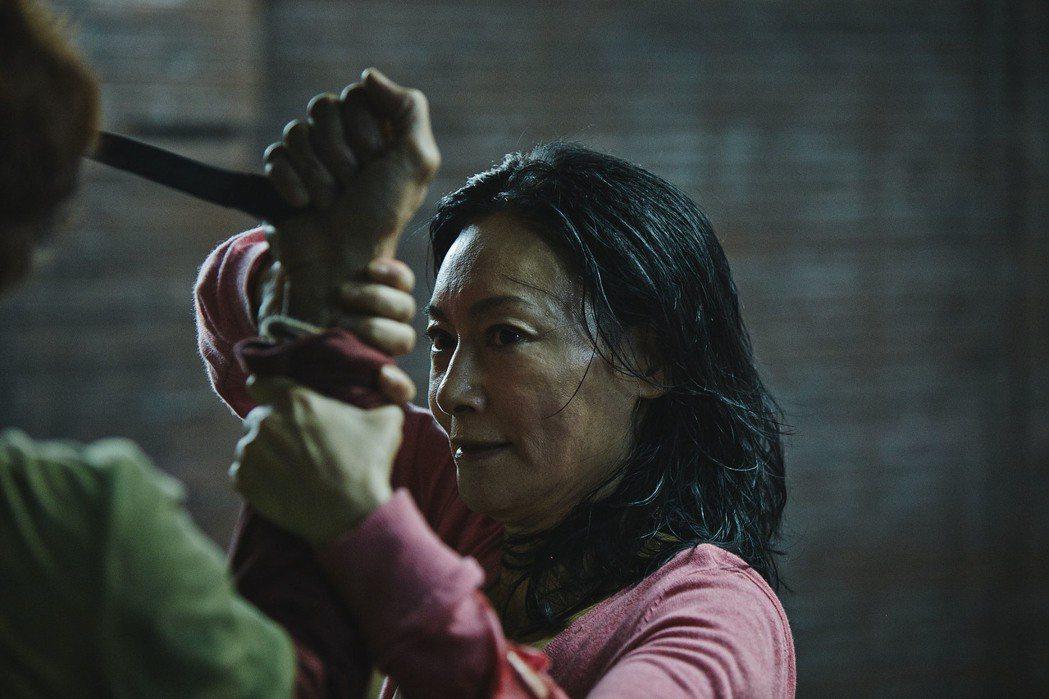 「Mrs. K」是惠英紅的動作片收山之作。圖/華映提供