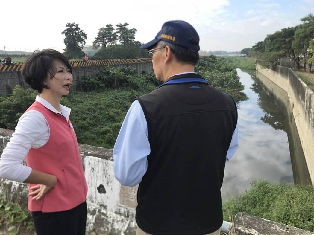 立委陳亭妃(左)希望相關單位重視全面清查。圖/陳亭妃服務處提供