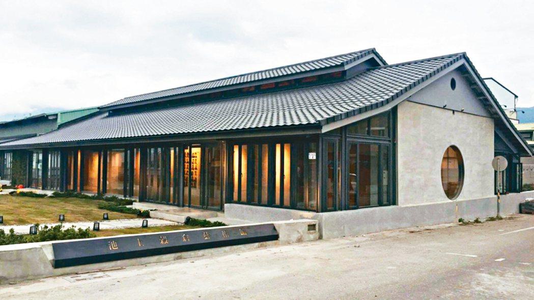 圖三:穀倉藝術館新的外觀。 蔣勳圖片提供
