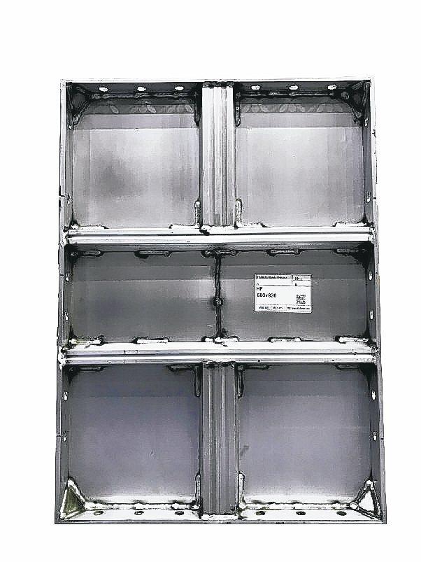 環保鋁模板。 安翊公司/提供
