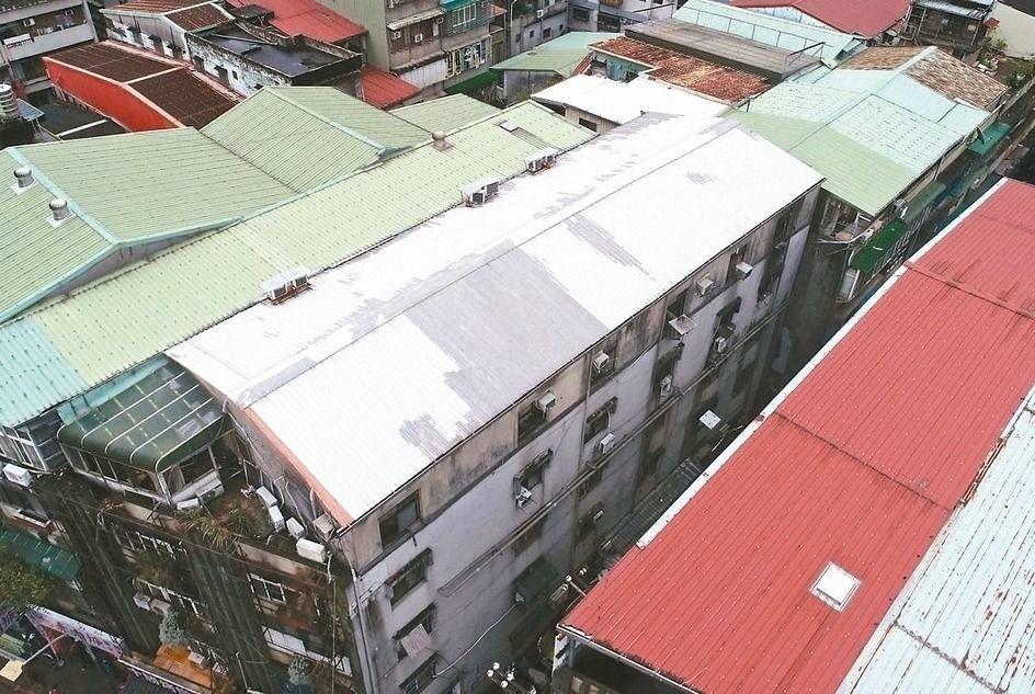 北市府規劃「208頂樓專案」。 圖/聯合報系資料照片