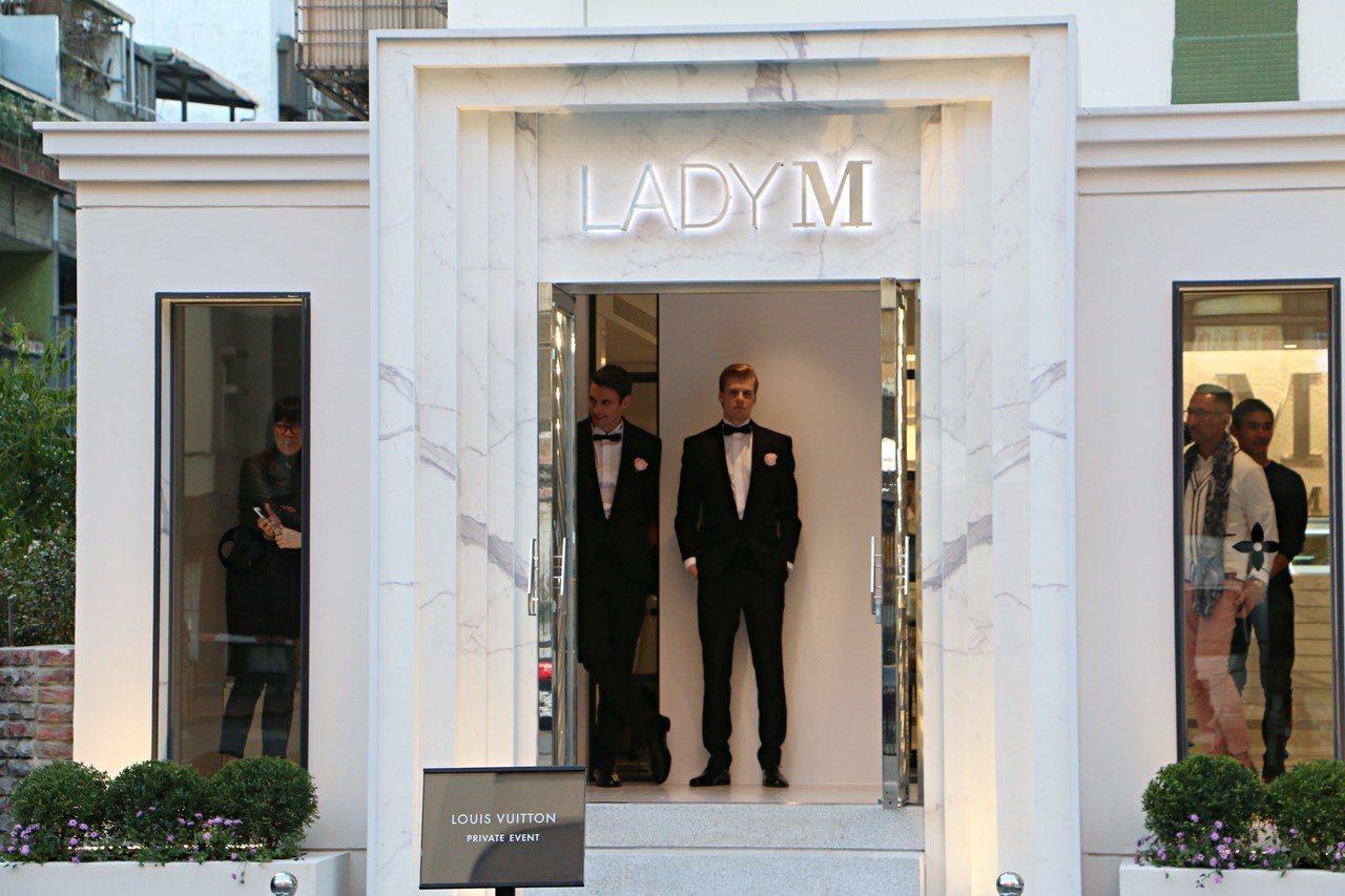 Lady M台灣旗艦店。記者沈佩臻/攝影