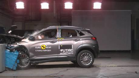 (影片)Euro NCAP 公佈評測結果 Hyundai Kona撞出五星好成績