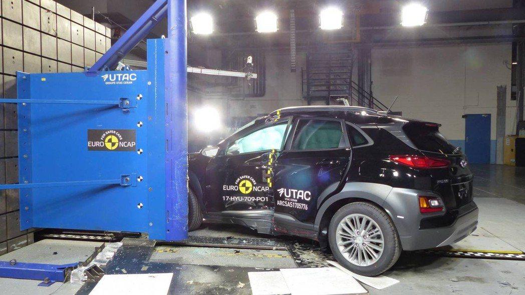 從此次的撞擊測試結果,可以見到Hyundai對於自家車輛安全性的重視。 摘自Eu...