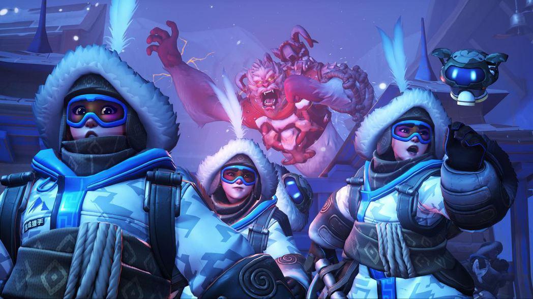 《鬥陣特攻》全新的鬥陣爭霸:雪域獵手,再次推出「小美的雪球大作戰」來歡慶歲末。