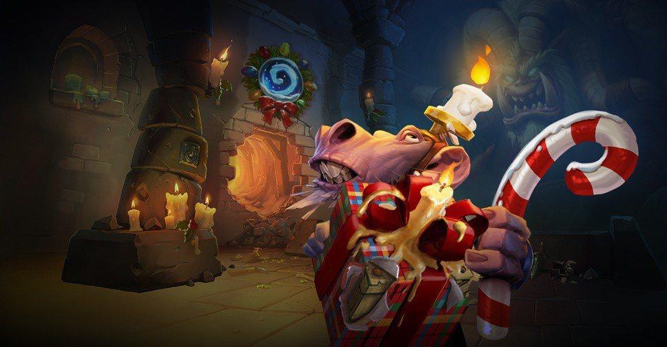 《爐石戰記》將於12月17日至31日舉行冬幕節遊戲內活動,燭你冬幕節快樂!