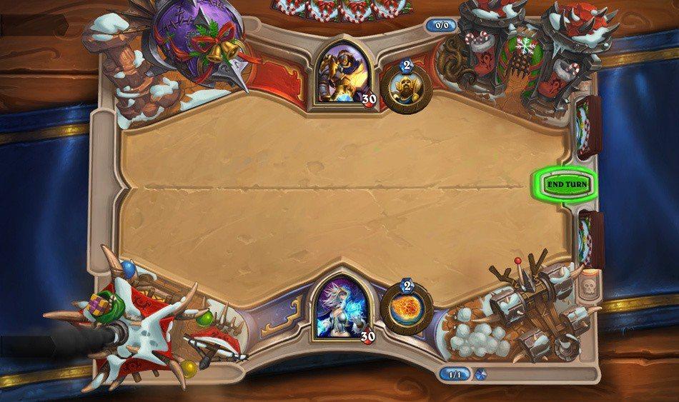 《爐石戰記》濃濃冬日氛圍的主題牌桌將陪伴玩家歡度冬幕節。