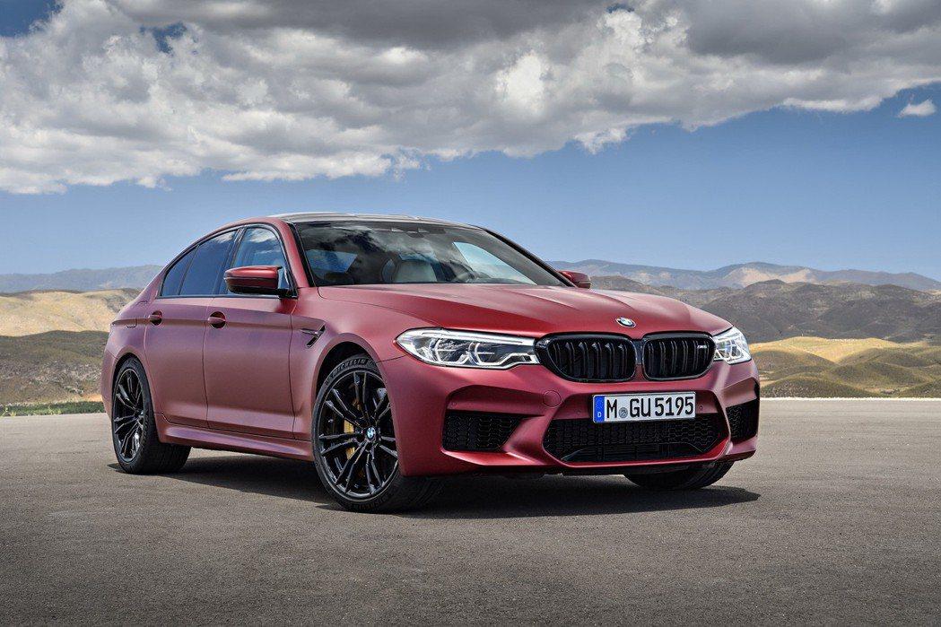 全新BMW M5 圖/汎德提供