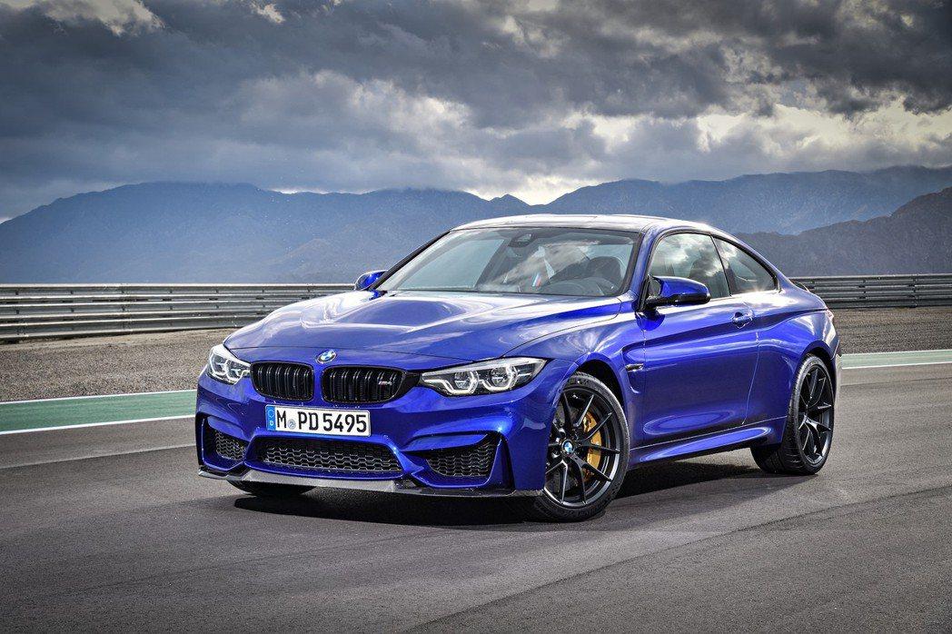 BMW M4 CS。 圖/BMW提供