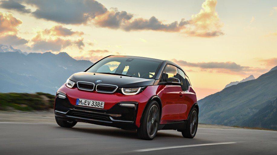 BMW i3s。 圖/BMW提供