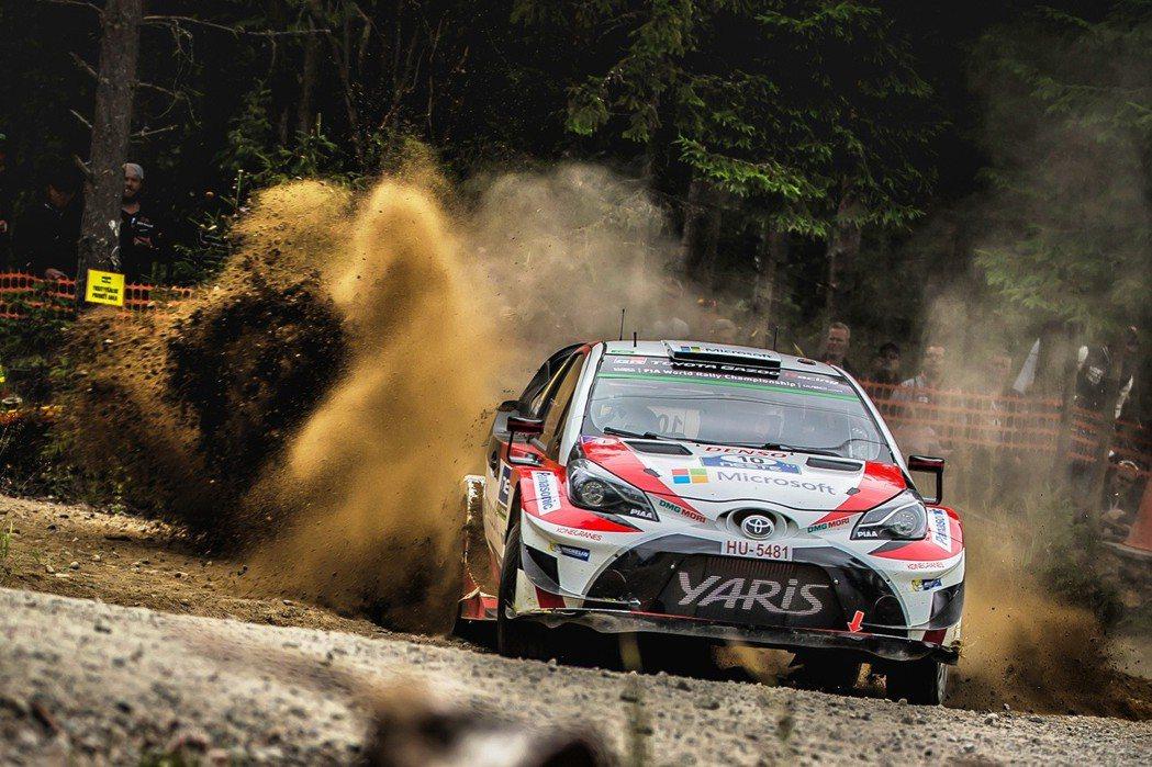 Yaris WRC是TOYOTA重返WRC賽事所打造的車型。 圖/和泰汽車提供