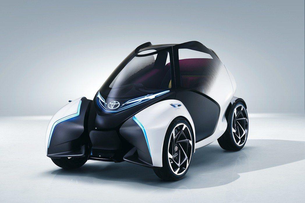 i-TRIL Concept 未來都會電動車。 圖/和泰汽車提供