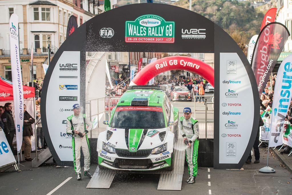 Skoda Fabia在WRC拉力錦標賽上表現出色,是個不容小覷的對手。 圖片來源:Skoda