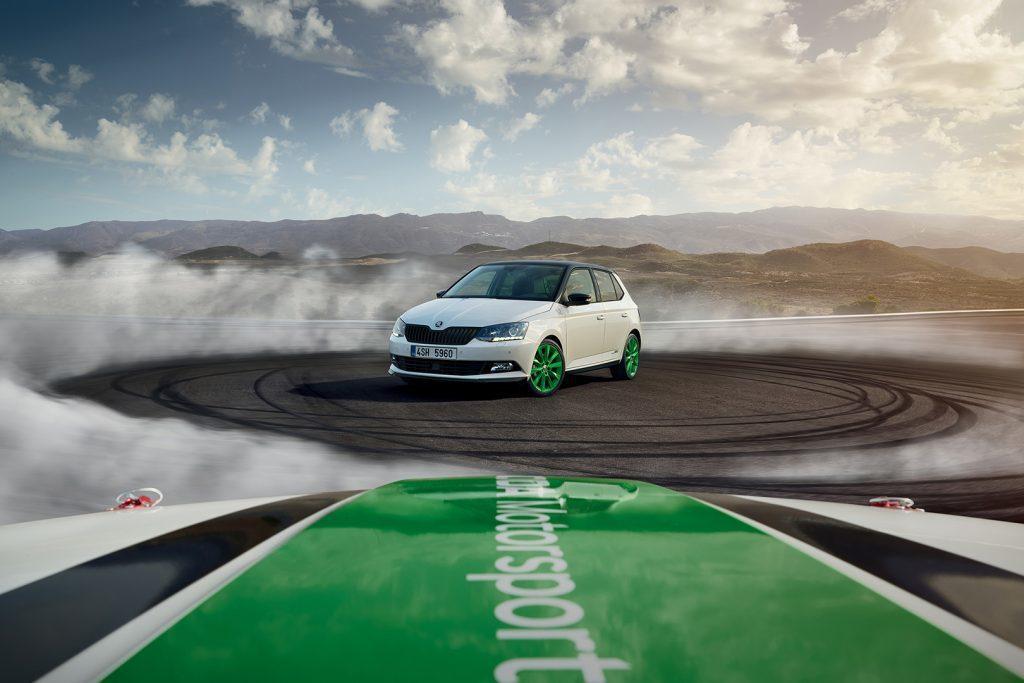 為了慶祝WRC2組奪冠,原廠推出拉力冠軍特仕版。 圖片來源:Skoda