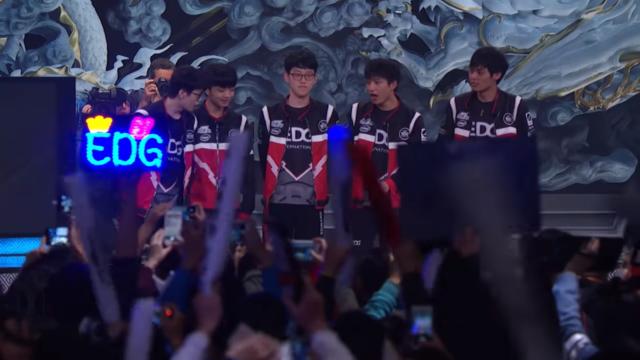 ▲ EDG 是中國相當知名的電競俱樂部。(Source:LoL Esports ...