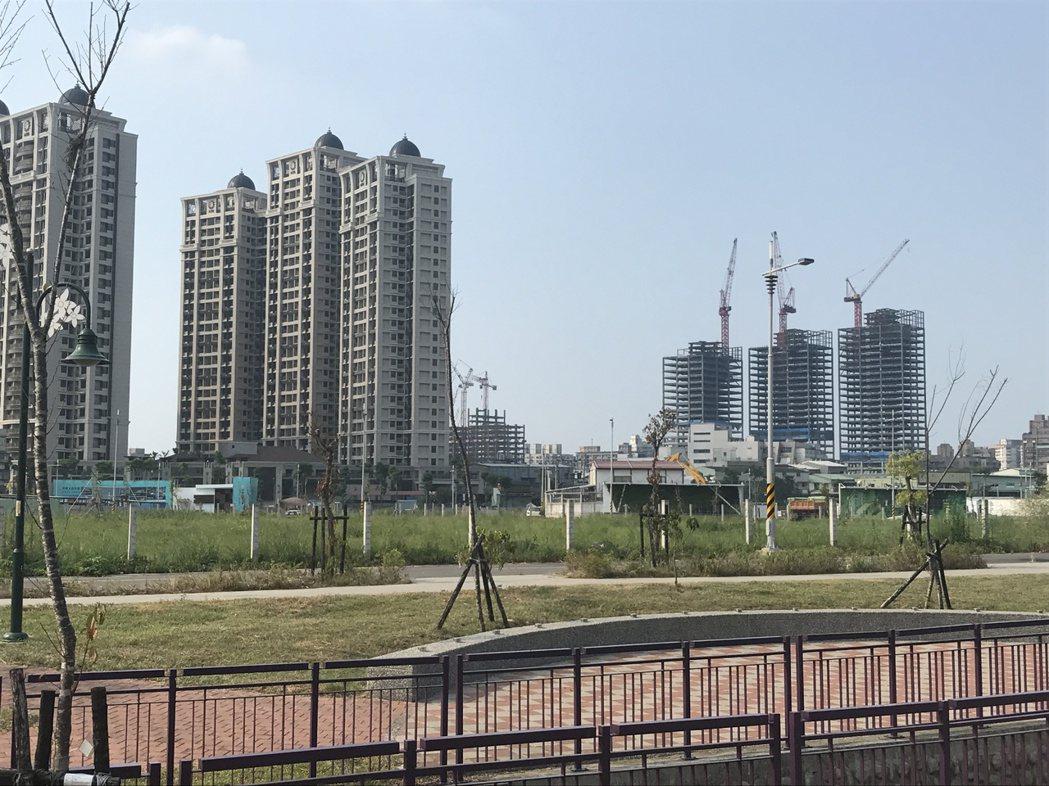 土城重劃區 記者游智文/攝影