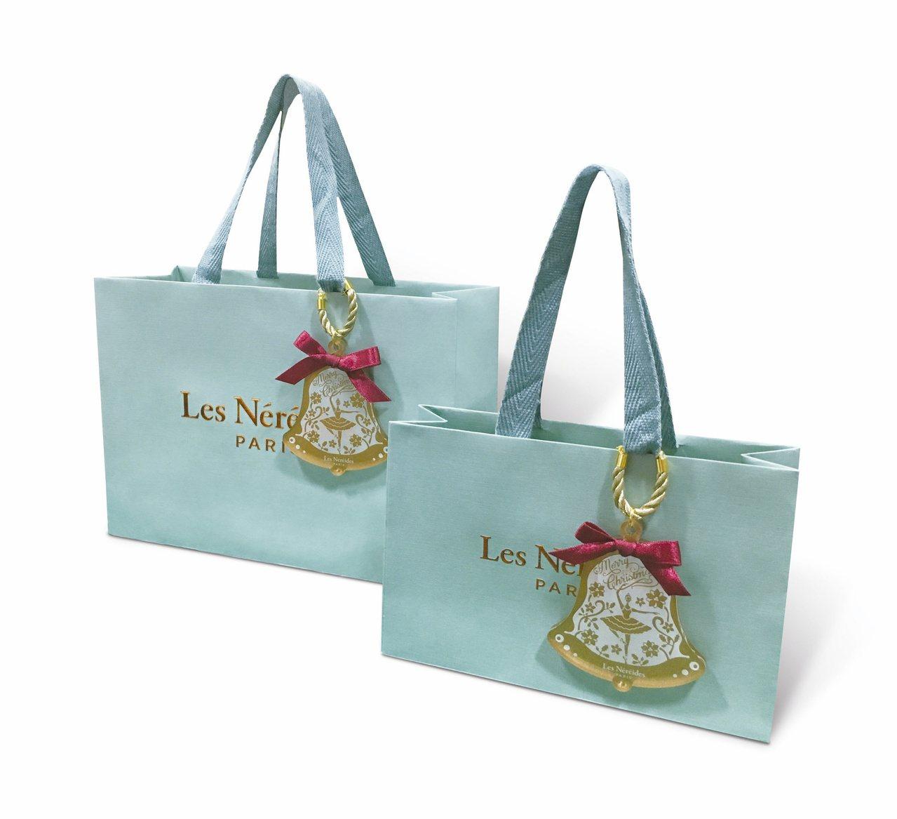 耶誕舞伶限定包裝。圖/Les Néréides提供