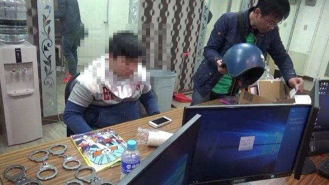 警方破獲賭博網站機房。記者劉星君/翻攝
