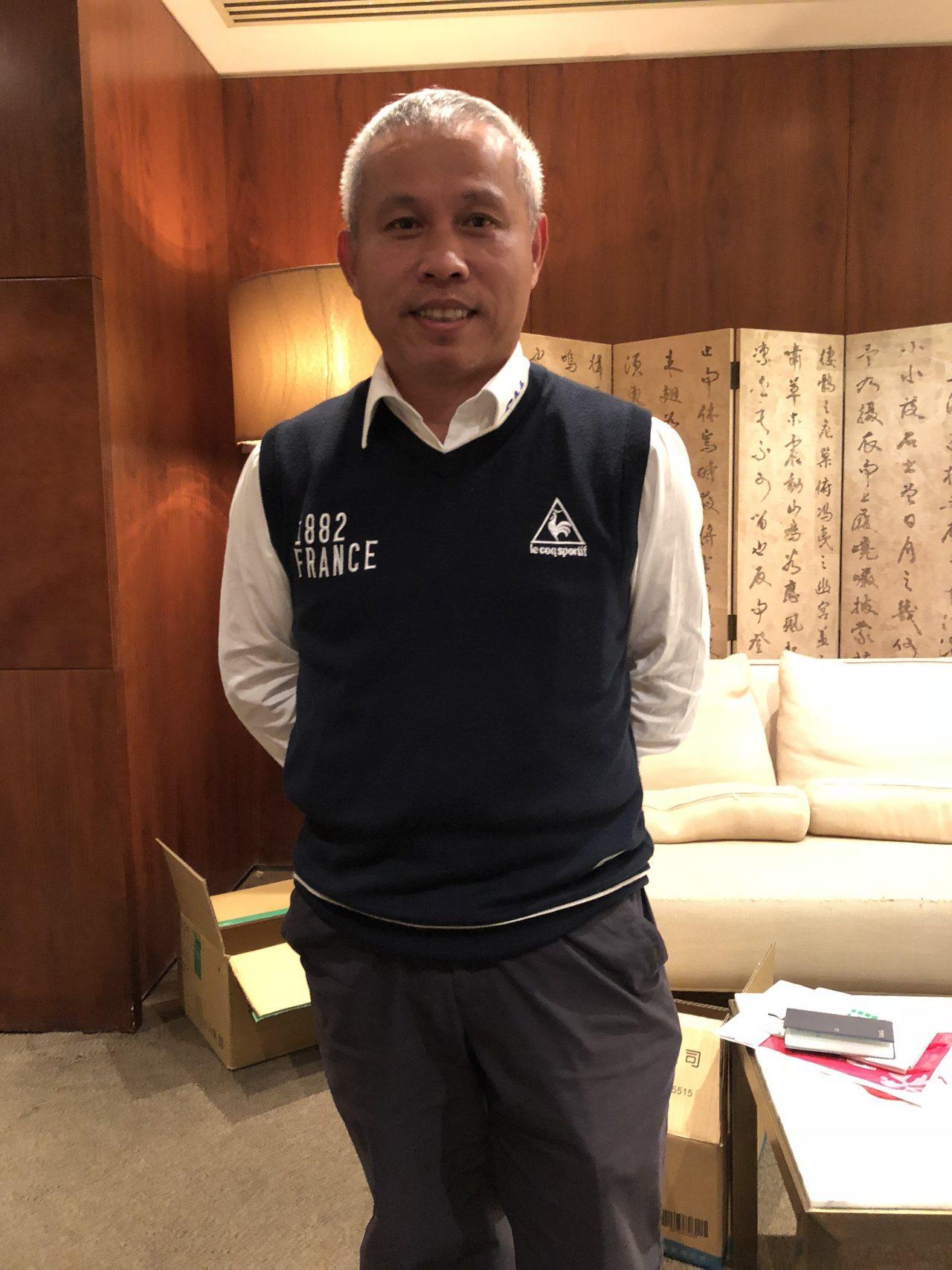 迅得總經理王年清。記者蕭君暉/攝影