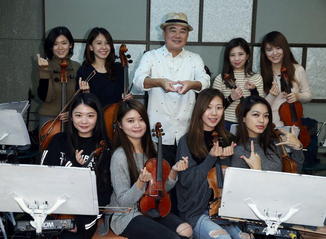 音樂頑童陳昇發表2017壓軸賀歲力作「南機場人」 新專輯。記者曾吉松/攝影