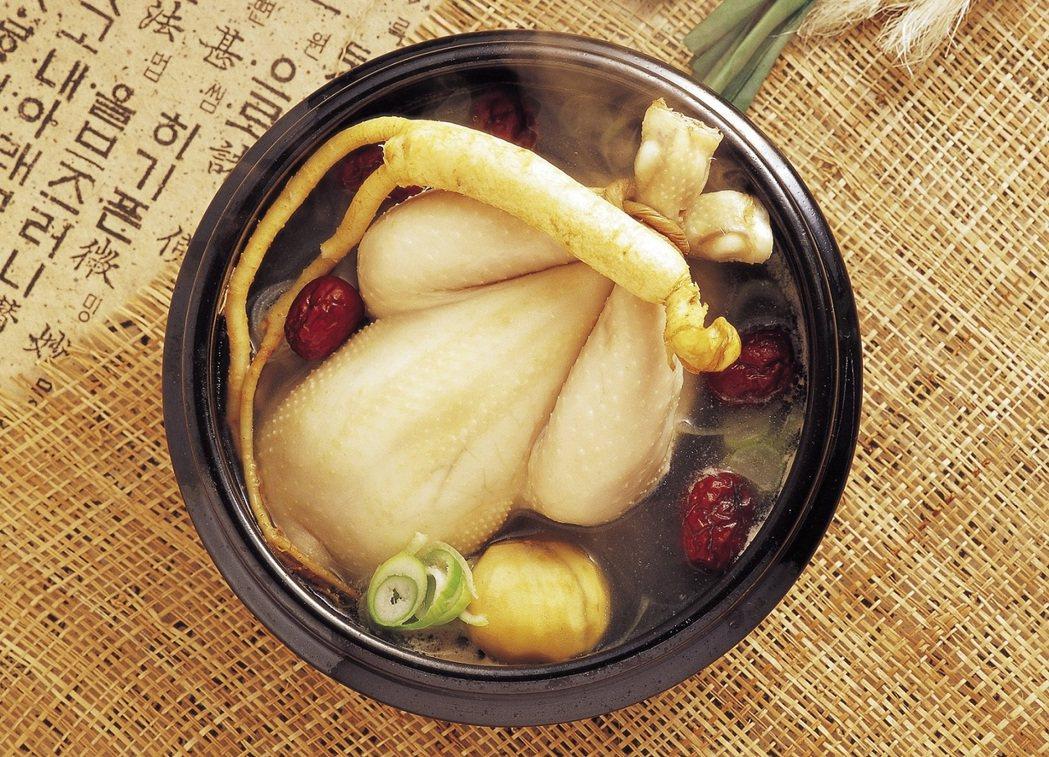 Sonsoo Bansang蔘雞湯500元。圖/新光三越提供