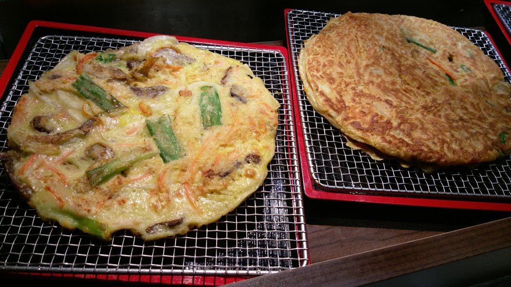 韓國煎餅,180元。記者江佩君/攝影