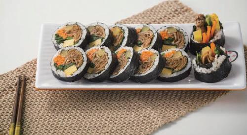 韓式飯卷一盒180元。圖/新光三越提供