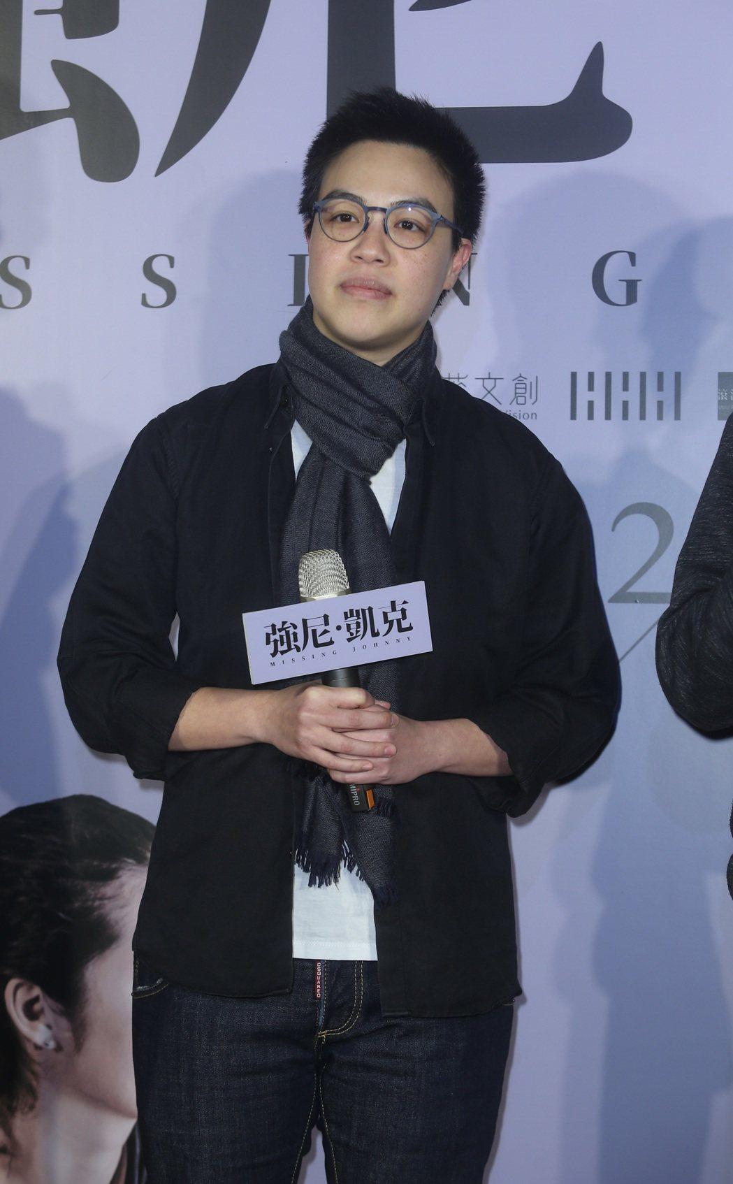 【強尼‧凱克】電影首映會,導演黃熙出席。記者曾吉松/攝影