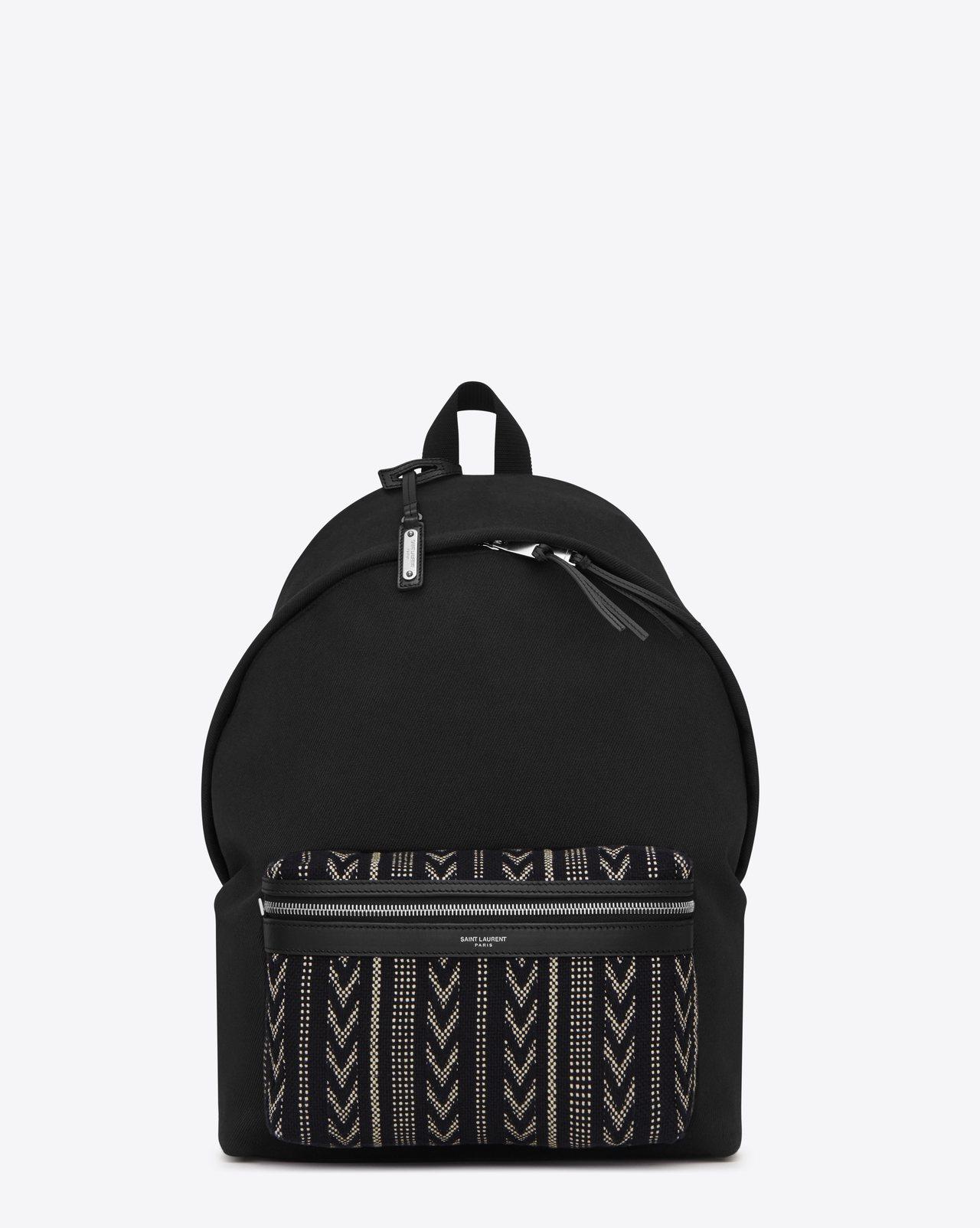 圖騰CITY後背包,36,800元。圖/Saint Laurent提供