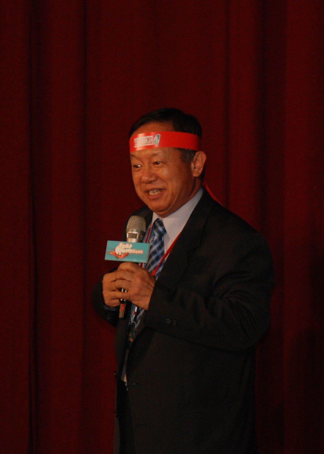 南科管理局局長林威呈。 楊鎮州/攝影
