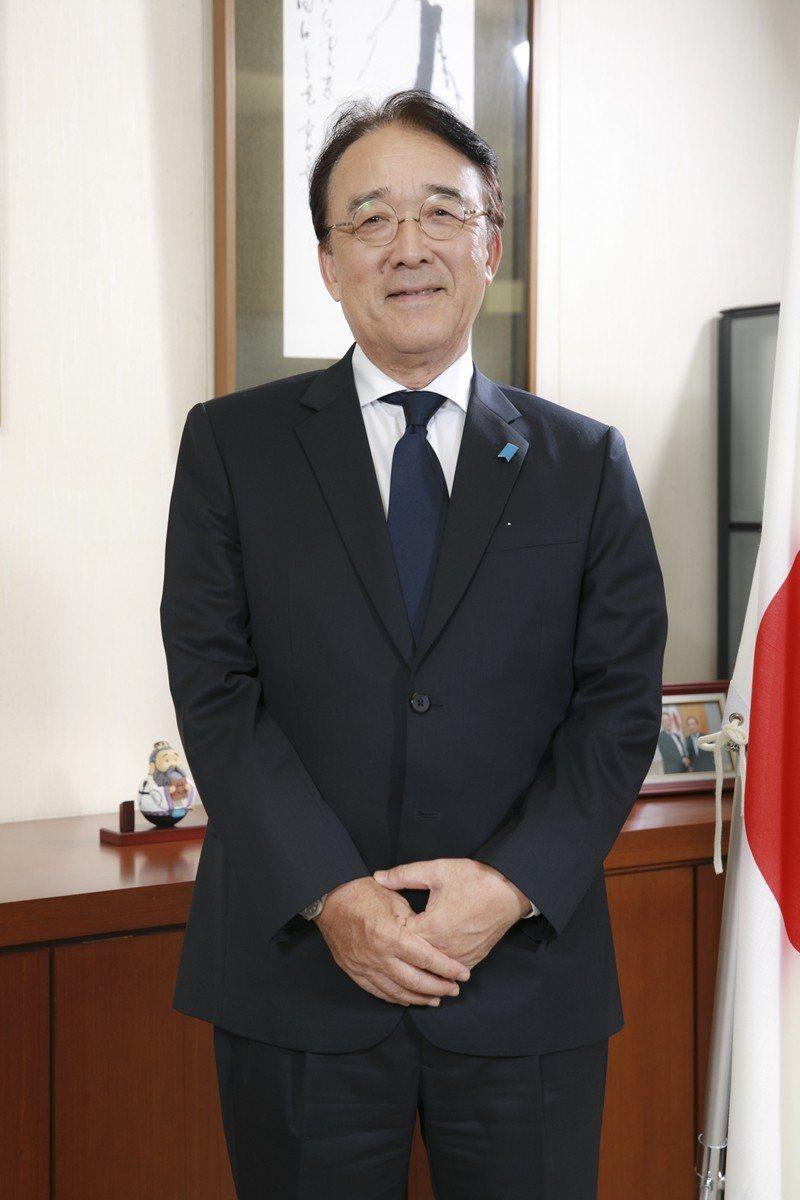 日台交流協会台北事務所沼田幹夫代表 (写真/施純泰)