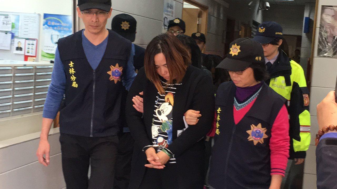 來自大陸廣東省的4人被警方逮捕。記者李承穎/攝影