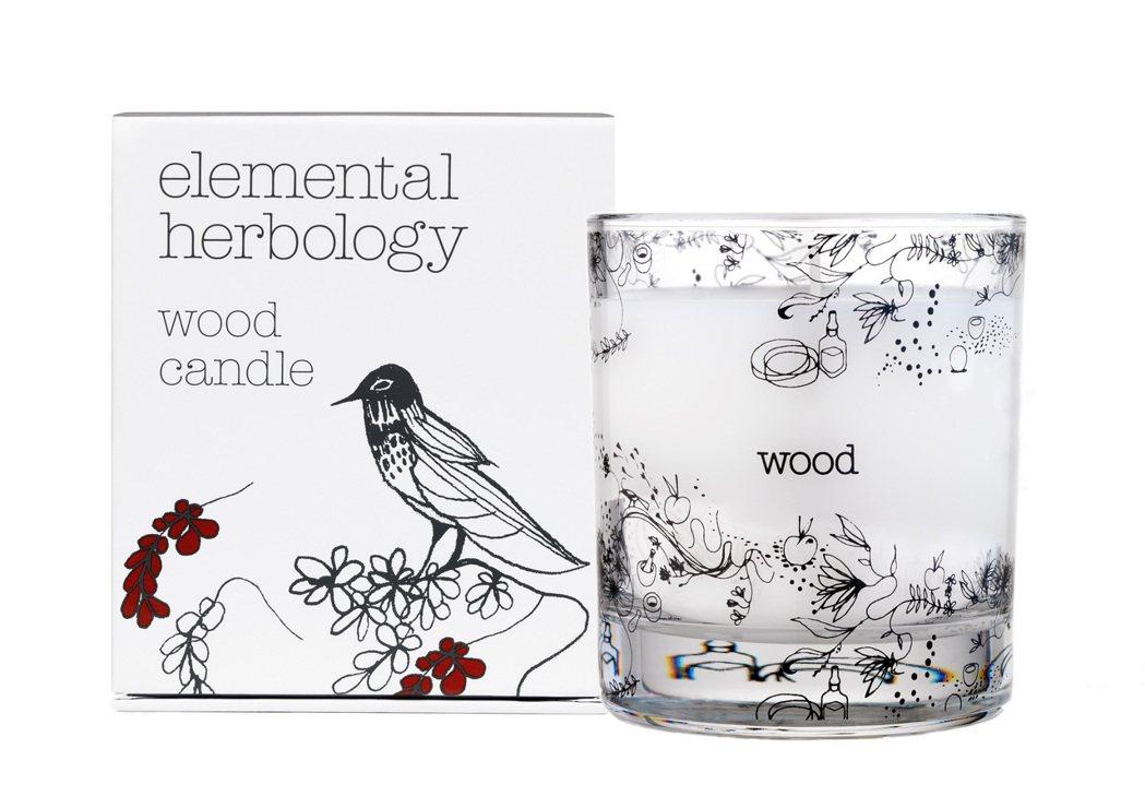 elemental herbology木-晨光朝氣香氛蠟燭,200g售價1,98...