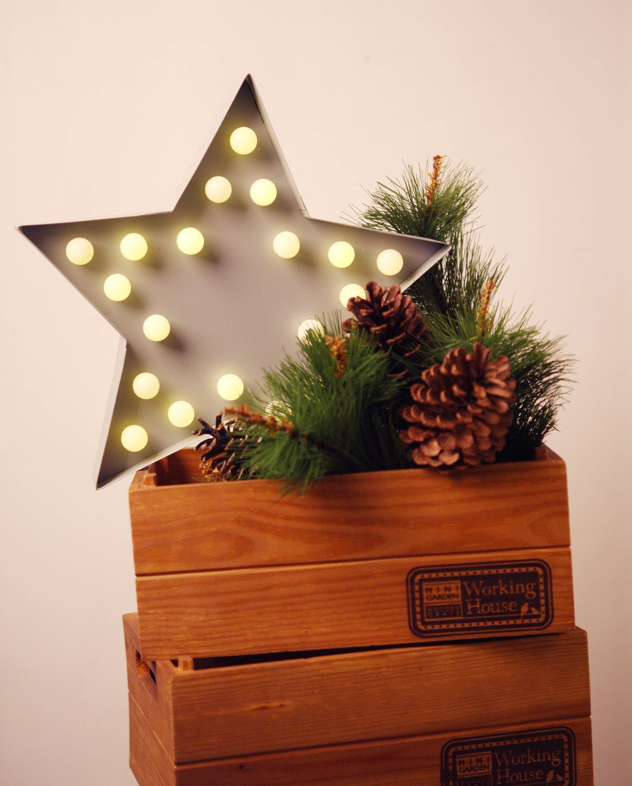 STAR擺飾燈。圖/生活工場提供