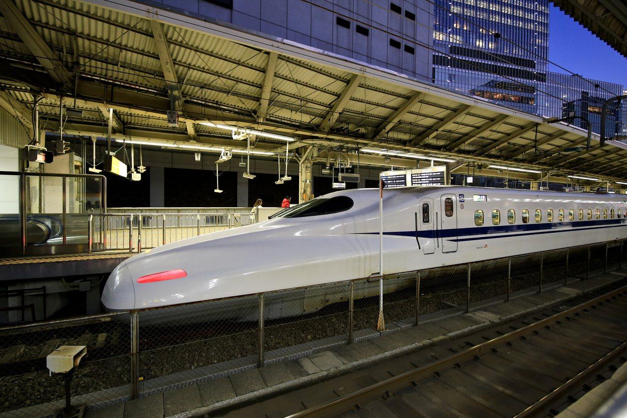 日本新幹線最近狀況頻傳。中央社資料照片