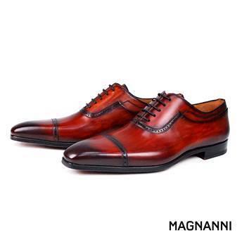 MAGNANNI牛津雕花鞋,定價18,800元。MAGNANNI/提供
