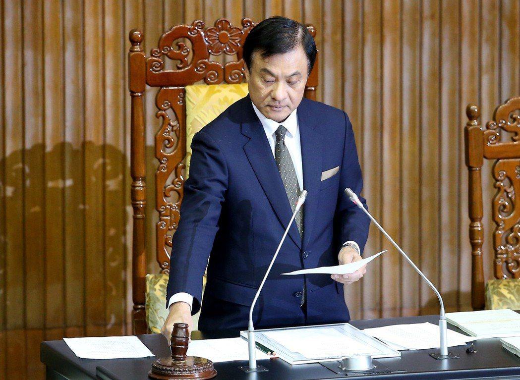 立法院長蘇嘉全。 圖/聯合報系資料照片