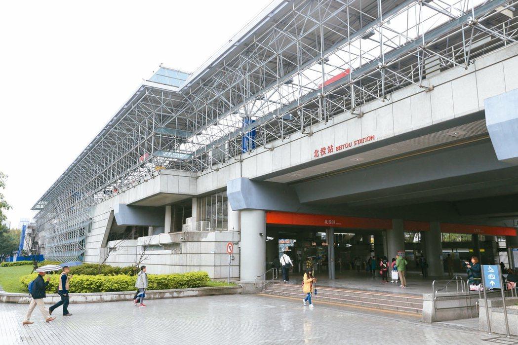 捷運北投站生活機能成熟,一直以來都是自住客高比率的地區之一。 記者林伯東/攝影